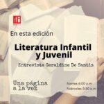 Una página a la vez – Literatura Infantil y Juvenil